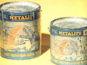 The original Metalife-Belzona Liquid Metal