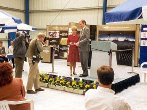 Opening of the Technology Centre in Harrogate