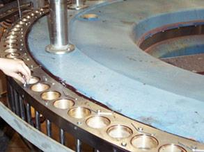 Stainless steel plates seated in Belzona for full support and corrosion protection