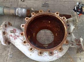 Severe pump volute corrosion at a paper mill